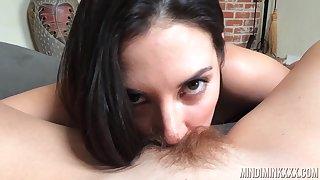Jelena Jensen licks puristic pussy of sexy milf Mindi Mink in hot POV video
