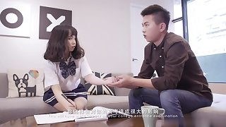 Schoolgirl wide unvaried - Real High Tutor Teen Fuck For the Greatest Time - On Camera! - Asian confidential