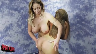 After the catfight Eva Notty wants to touch perfect Richelle Ryan convention
