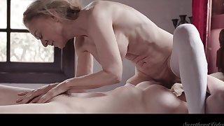 Matured ladies be careful rainy lesbian porn scene