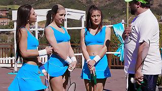 Badminton Tag-Team