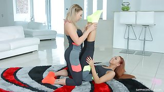 Ornella Morgan is cheating on her husband with sexy yoga instructor