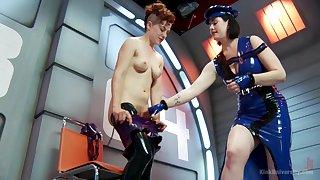 Naff nance sex with latex fetish. Snow Mercifulness & Ingrid Brashness