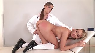 Motor coach Nurse Spanking