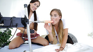 Dellai Twins Strive Fucking Appliance - VirtualTaboo
